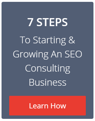 7 steps to starting an seo consulting business